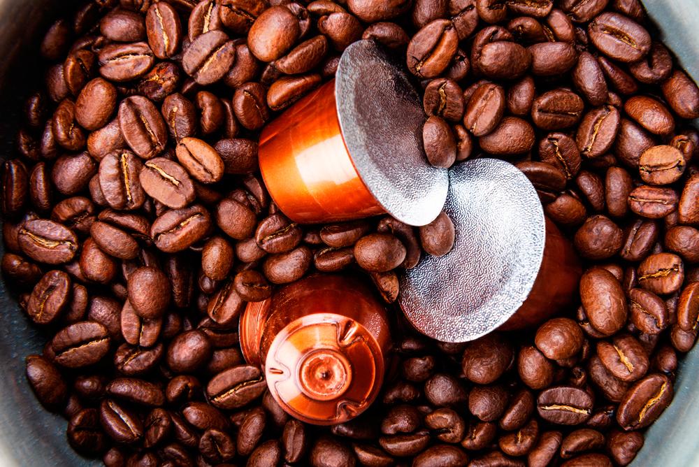 aluminio para tapas de cápsulas de café